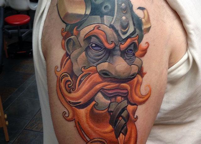 josh artist tattoo